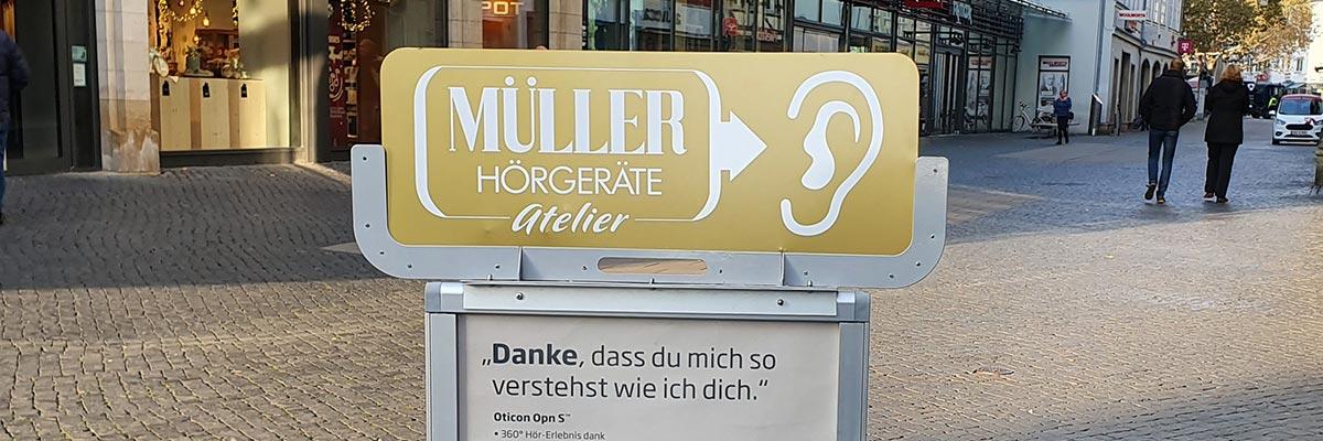 Müller Hörgeräte Atelier