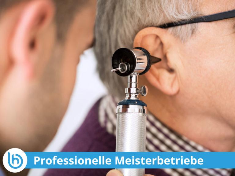Wenn Sie bei einem Empfohlenen Hörakustiker einen Termin wahrnehmen, erhalten Sie eine Dienstleistung mit Meisterzertifizierter Qualität im Haus.